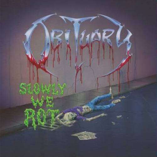 Obituary ‎– Slowly We Rot LP - Grindpromotion Records