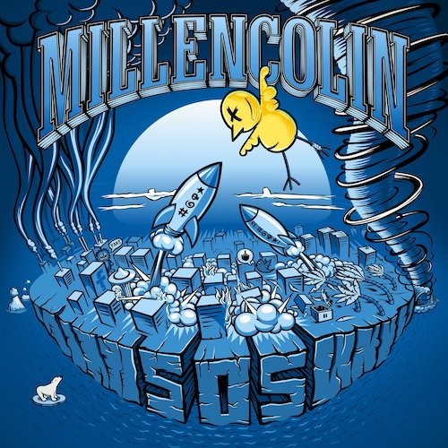 Millencolin ‎– SOS LP - Grindpromotion Records