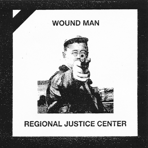 "Regional Justice Center / Wound Man - Split 7"" (Blue Vinyl)"