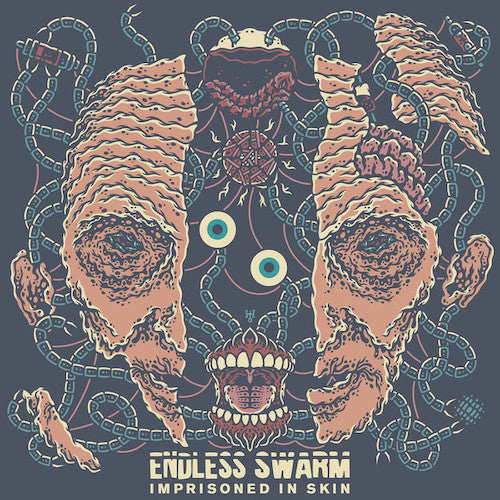 Endless Swarm ‎– Imprisoned In Skin LP (Random Color Vinyl) - Grindpromotion Records