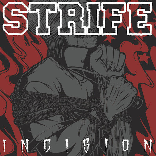 Strife ‎– Incision LP (Red Vinyl) - Grindpromotion Records