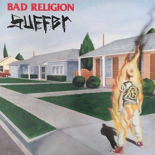 Bad Religion ‎– Suffer LP (2018 Remaster Edition) - Grindpromotion Records