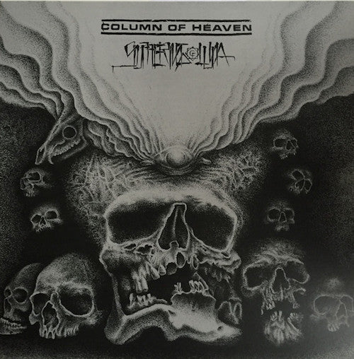 Column Of Heaven / Suffering Luna ‎– Column Of Heaven / Suffering Luna LP