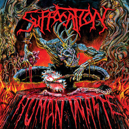 Suffocation - Human Waste LP - Grindpromotion Records