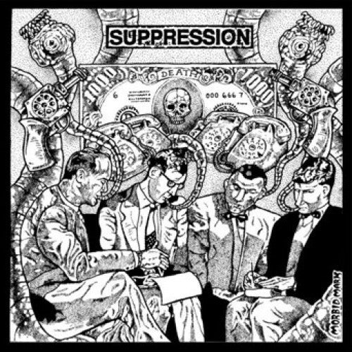 "Suppression / Mellow Harsher - Suppression / Mellow Harsher 7"" - Grindpromotion Records"
