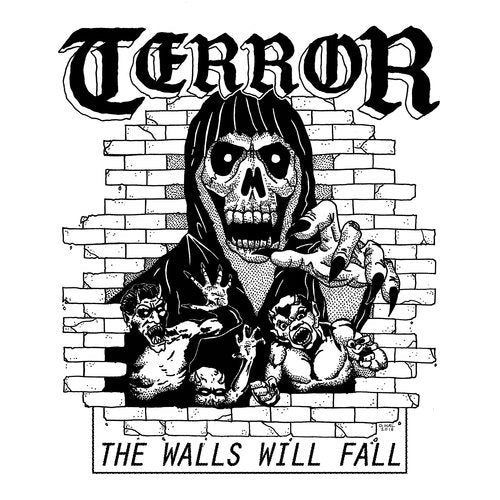 "Terror - The Walls Will Fall 7"" (Green Vinyl) - Grindpromotion Records"