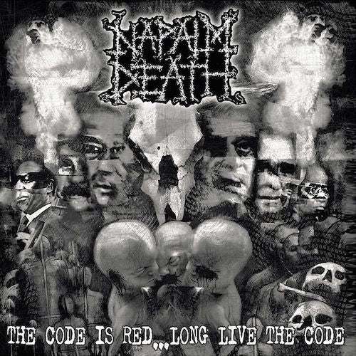 Napalm Death ‎– The Code Is Red... Long Live The Code LP - Grindpromotion Records