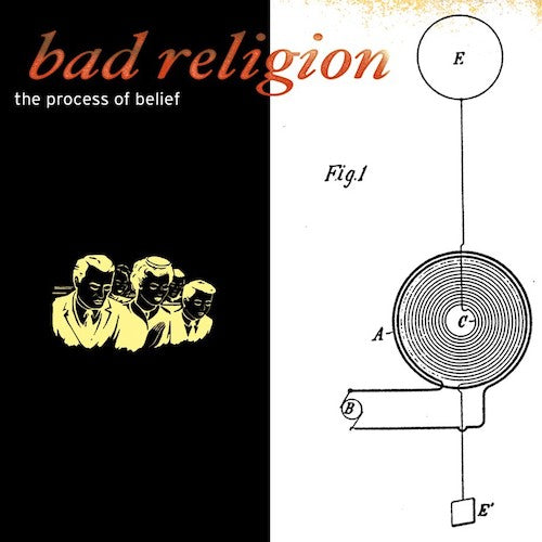 Bad Religion ‎– The Process Of Belief LP - Grindpromotion Records