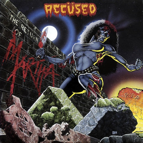 The Accused - The Return Of Martha Splatterhead LP - Grindpromotion Records
