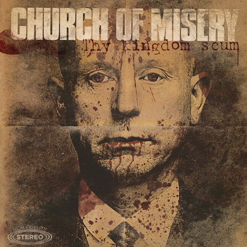Church Of Misery ‎– Thy Kingdom Scum 2XLP - Grindpromotion Records