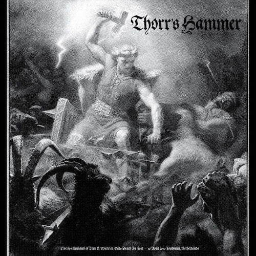 Thorr's Hammer - Live by Command of Tom G. Warrior LP - Grindpromotion Records