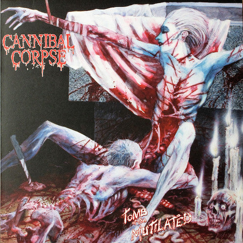 Cannibal Corpse ‎– Tomb Of The Mutilated LP (180g Vinyl) - Grindpromotion Records