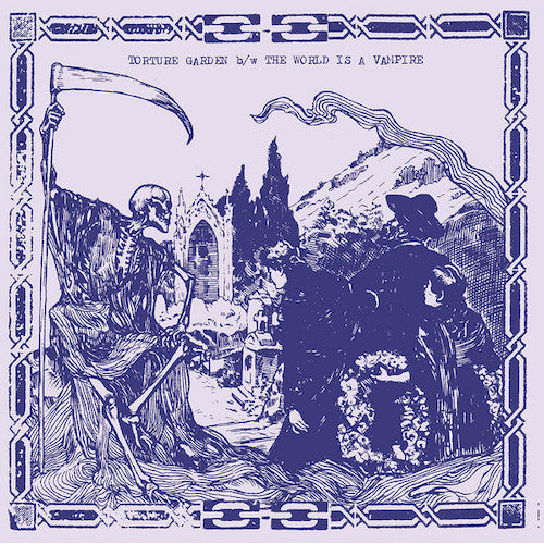 "Torture Garden / The World Is A Vampire ‎– Decadencetomb 7"" - Grindpromotion Records"