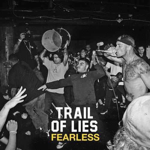 "Trail Of Lies ‎– Fearless 7"" - Grindpromotion Records"