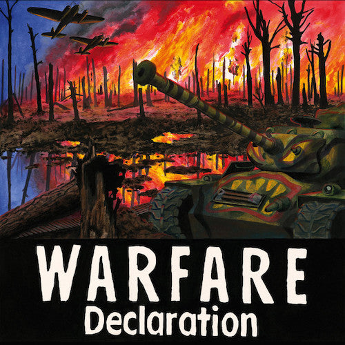 Warfare ‎– Declaration LP (S/Sided Vinyl) - Grindpromotion Records