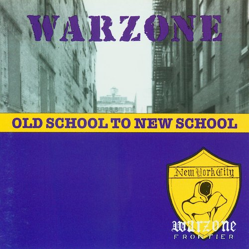Warzone – Old School To New School LP (Blue Vinyl) - Grindpromotion Records