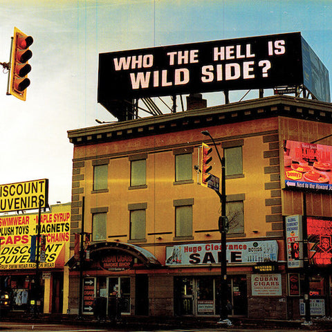 Wild Side ‎– Who The Hell Is Wild Side? LP