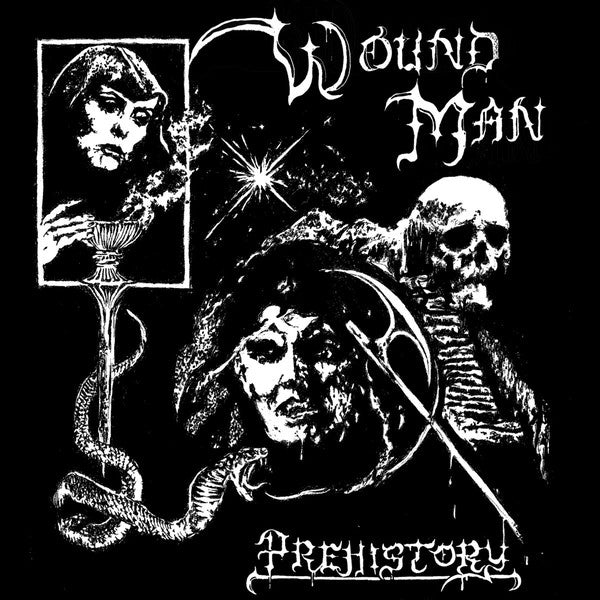 "Wound Man ‎– Prehistory 7"" - Grindpromotion Records"