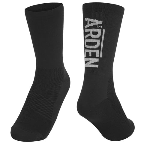 Arden Logo Long Socks / Black