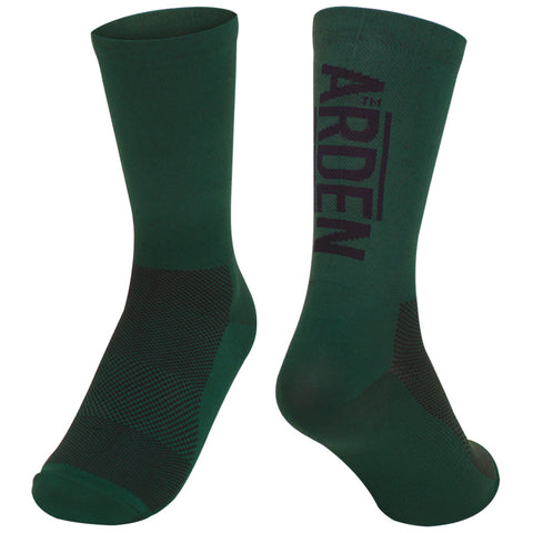 Arden Logo Long Socks / Green