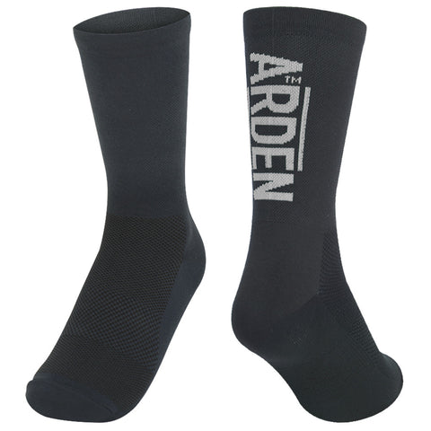 Arden Logo Long Socks / Navy