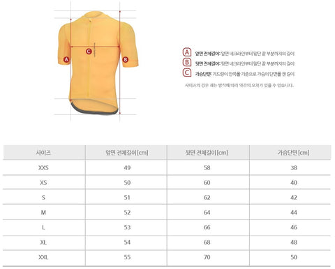 Arden Normal Hardcore Jersey / Yellow