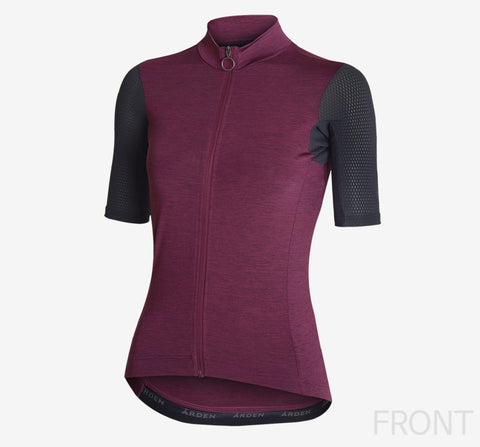 Arden Woman Classic Jersey 2 / Wine,Gray