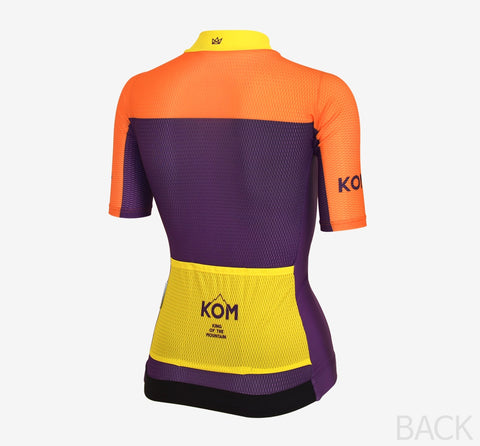 Arden Woman KOM Jersey / Orange
