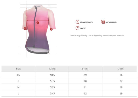 Arden Woman Shooting Star Jersey / Pink