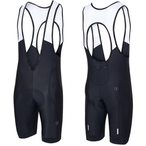 Arden Active Bibshorts (Black Band) (3D-Cento Pad)