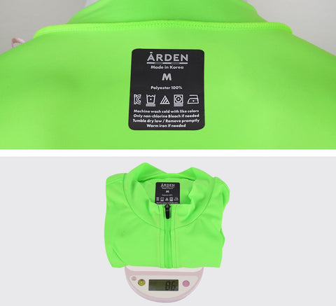 Arden Alpha Reflect Jersey / Neon Green