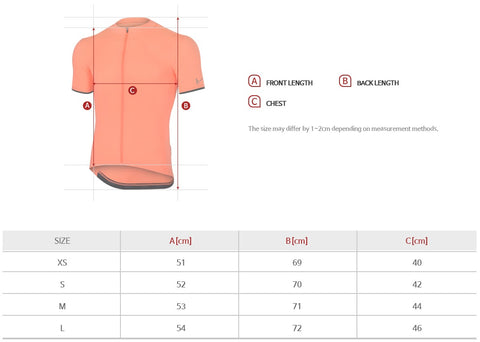 Arden Alpha Reflect Jersey / Neon Orange