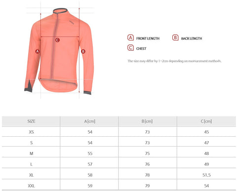 Arden Civic Wind Jacket2 / Neon Pink