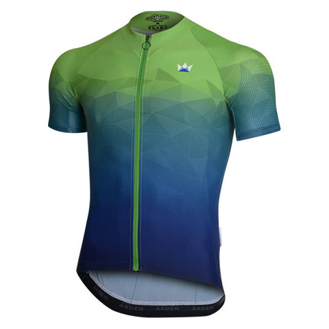 Arden Polygon Jersey / Green