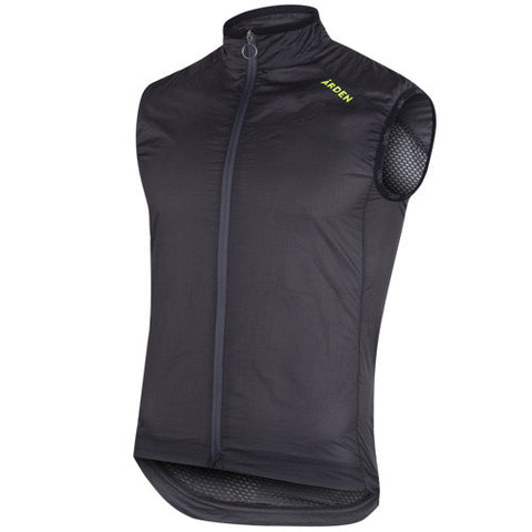 Arden Helium Wind Vest / Dark Gray