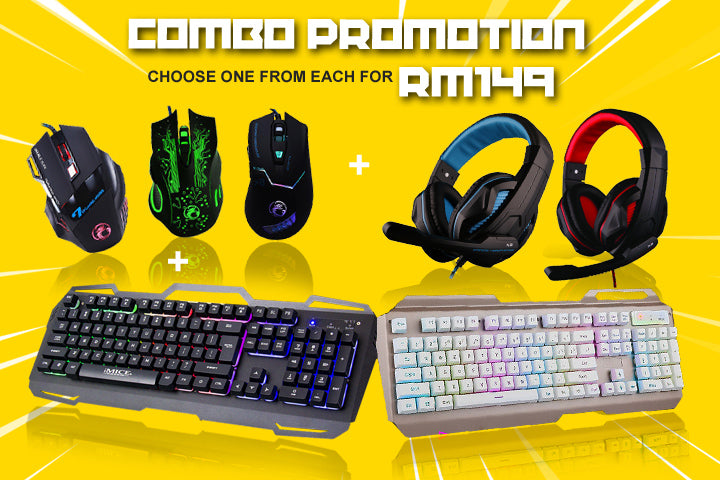 Merdeka Gaming Combo Promotion