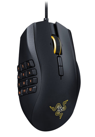 Razer Naga Chroma - Professional Grade Ergonomic MMO Gaming Mouse