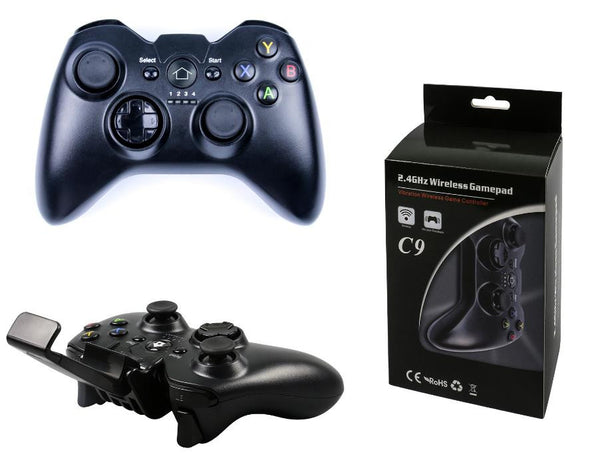 New 2017 C9 Wireless Controller Bluetooth Gamepad