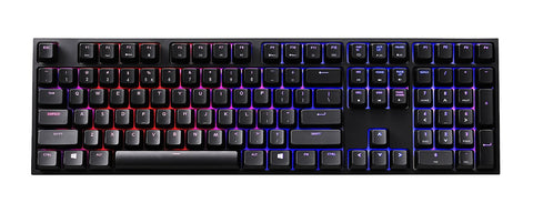 CM Storm QuickFire XTI Multi-Color Backlit Mechanical Keyboard (MX Blue & Brown & Red)
