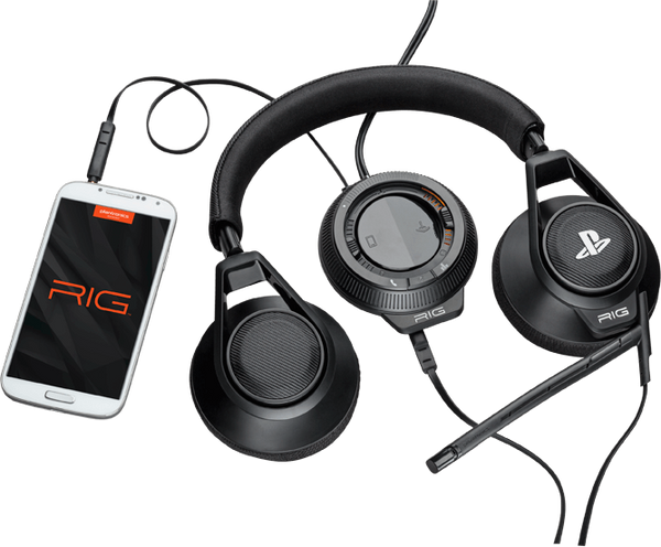 Plantronics RIG Closed Ear Analog/USB Gaming Headset with Mic for PC, Mac, PS4, PS3, PS Vita
