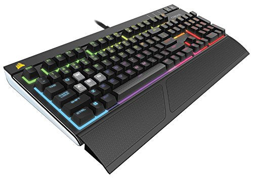 Corsair Gaming STRAFE RGB Mechanical Gaming Keyboard, Backlit Multicolor LED