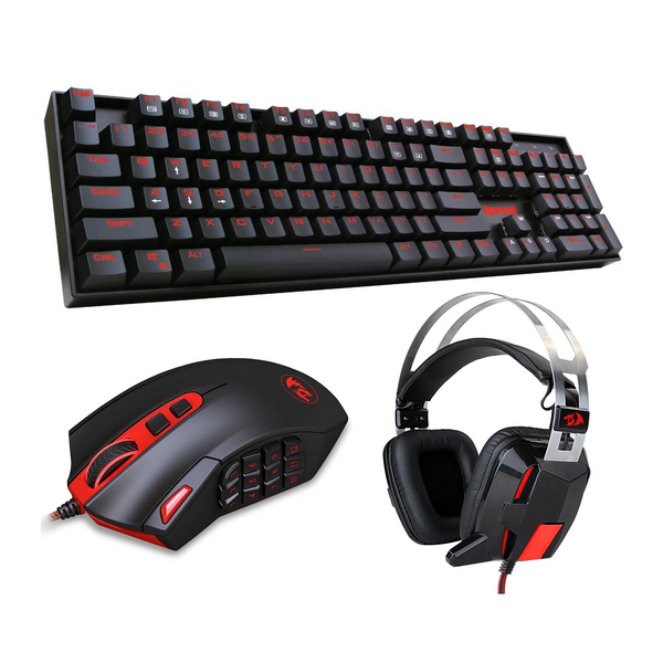 Redragon Blaze Mechanical Combo Vara,Perdition & Lagos