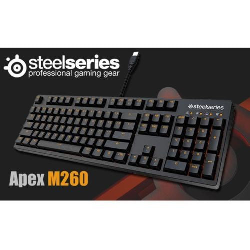 SteelSeries Apex M260 Heat Orange Mechanical Keyboard