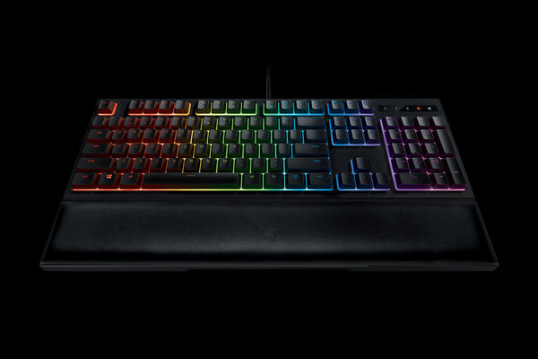Razer Ornata Chroma – Revolutionary Mecha-Membrane Gaming Keyboard with Mid-Height Keycaps – Ergonomic Design