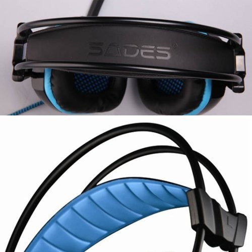 Sades A-30 Illuminated Gaming Headset