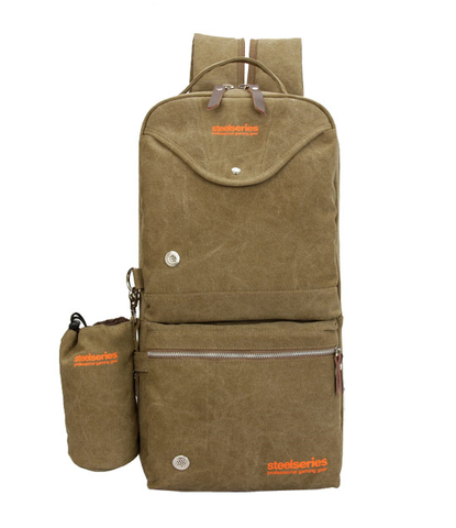 Steelseries Two-Strap Canvas Gaming Backpack