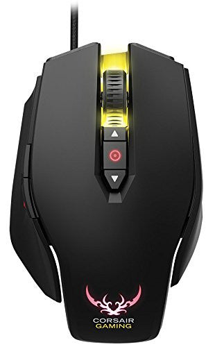Corsair CGM M65 RGB, 8200 DPI, Black Gaming Mice CH-9000070-AP