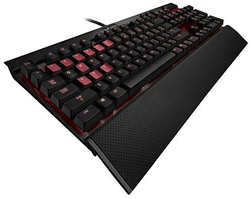 Corsair K70 - Cherry Blue + Red LED Mechanical Keyboard CH-9000066 / 76-NA
