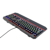 Redragon K558 ANALA Rainbow Mechanical Keyboard (Blue Switch) - Novero Gaming Store