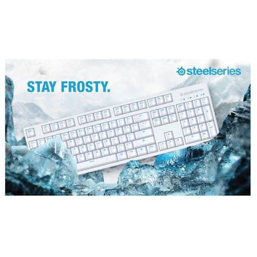 SteelSeries Apex M260 Frost Blue Mechanical Keyboard